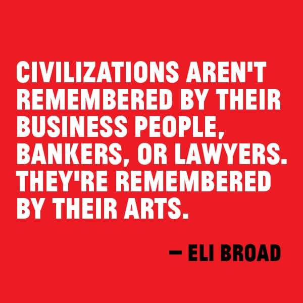 Civilizations remembered by Arts