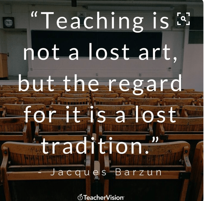 The Importance of Teaching