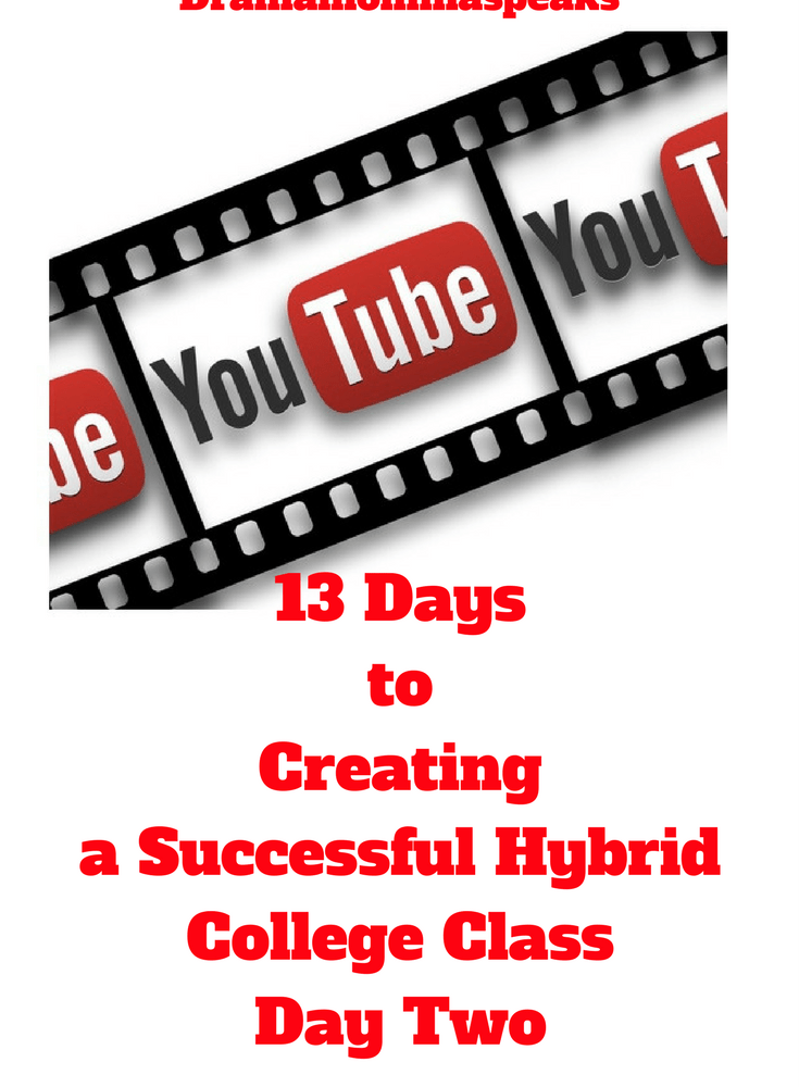 Thirteen Days to Creating a Successful Hybrid College Class, Day Two