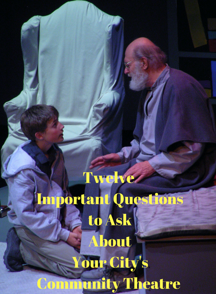 Twelve Important Questions to Ask About  Your City's Community Theatre