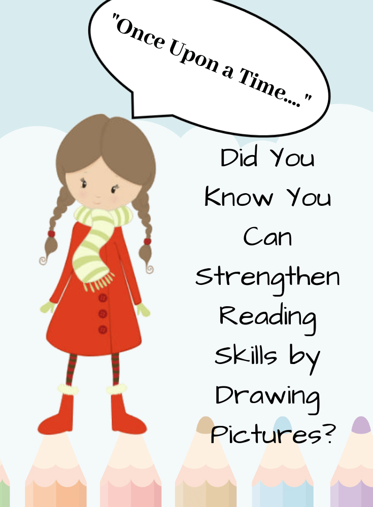 Did You Know You Can Strengthen Reading Skills by Drawing?