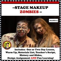 STAGE MAKEUP ZOMBIE CHARACTERS