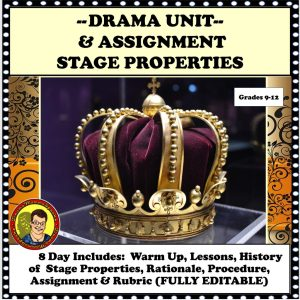 Stage Properties are a Lesson Wondrous Creativity