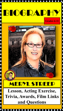 Meryl Streep Biography, Format Two