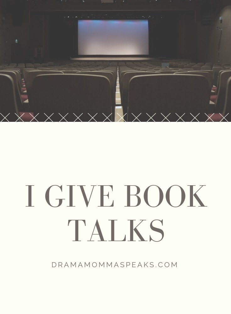 I Give Book Talks!