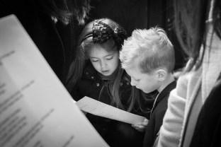 children with script