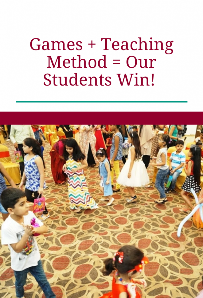 Games + Teaching Method= Our Students Win!
