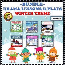 BUNDLE UNITS AND PLAYS WINTER THEME
