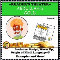 ABDULLAH'S GOLD READERS THEATER UPDATED COVER