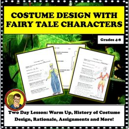 Costume Design Fairy Square Cover 400 dpi