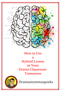 How to Use a Hybrid Lesson in Your Drama Classroom Tomorrow