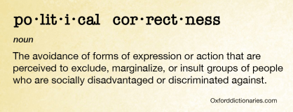 Political correctness definition