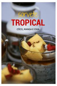 sorvete tropical pinterest