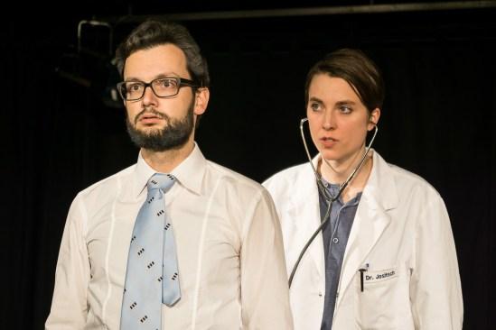 Kürmann beim Arzt