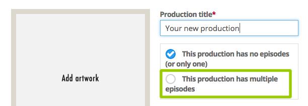 Change episode settings