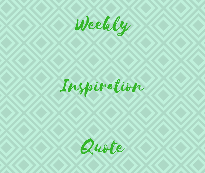 Weekly Motivational Post