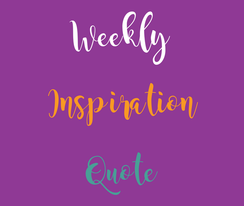 Weekly Inspiration Post