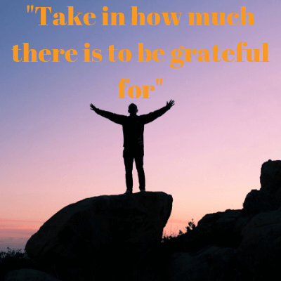 Have gratitude and achieve your dreams