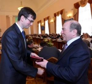 volodVolodymyr Shelukhin and Leonid Guberskyi