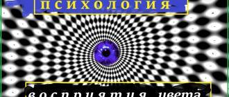 Психология восприятия цвета