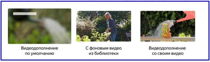 Анатомия видеодополнений в Яндекс Директ