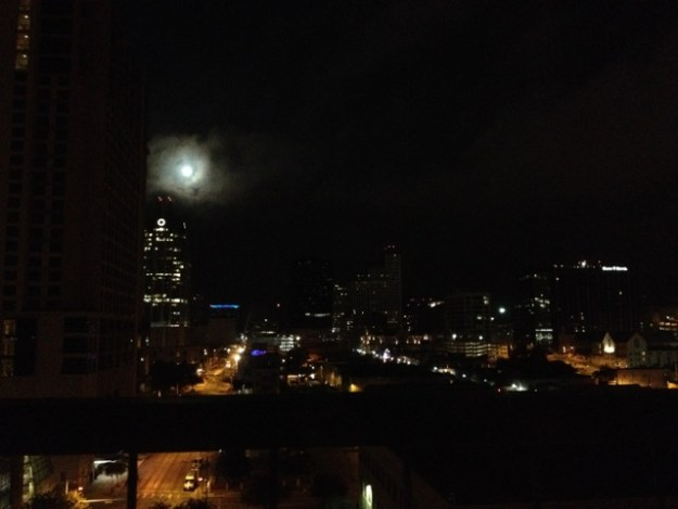 Great night to be recovering from overeating in Austin, TX