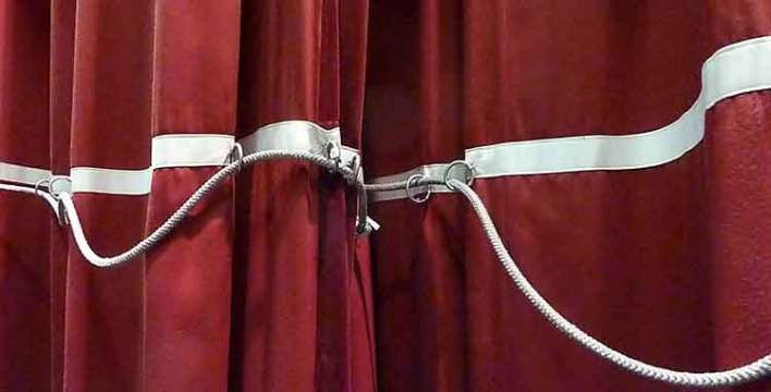 back tab curtain