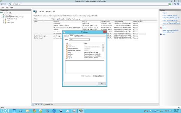 InetMgr-CertificateExport