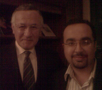 Dr.ashraf Sabry with famous egyptian celebrity ezzat ouf