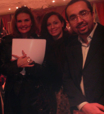 Dr.Ashraf Sabry with famous egyptian celebrity Yousra