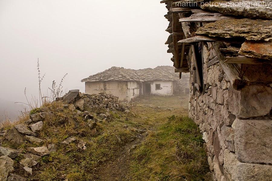 На село...