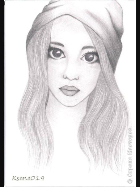 Милые и прикольные картинки для срисовки девочкам 12 лет