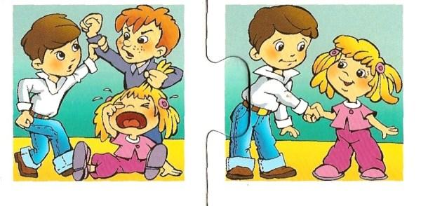Хорошие и плохие поступки - картинки, рисунки для детей