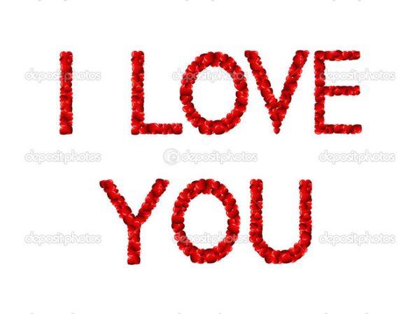 "Картинки на английском языке ""Я тебя люблю"" - сборка"