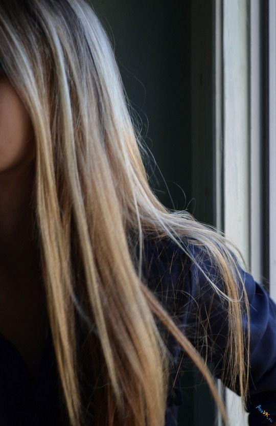 Девушки с длинными белыми волосами без лица - красивые фото