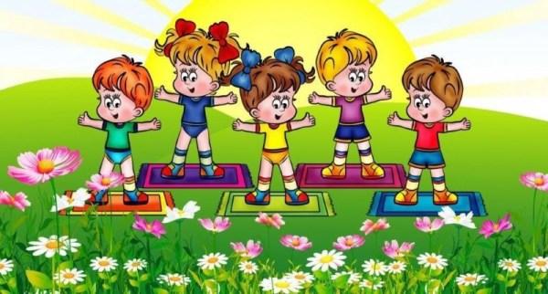 Картинка о здоровом образе жизни для детей