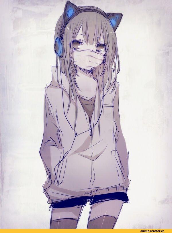 Картинки девочек аниме милых - подборка