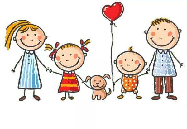 Мама и папа рисунок для детей - подборка