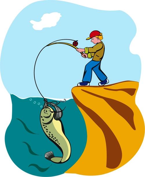 Охота и рыбалка рисунки и картинки