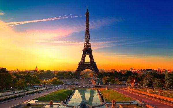 Париж картинки на рабочий стол Эйфелева башня - подборка