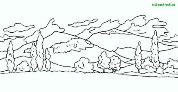 """Рисунки на экологическую тему """"Берегите природу"""" - раскраски"""