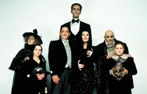 Семейка аддамс хэллоуин - интересные картинки