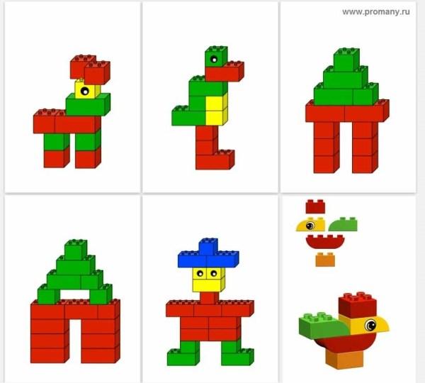 Лего дупло схемы для дошкольников - крутая коллекция