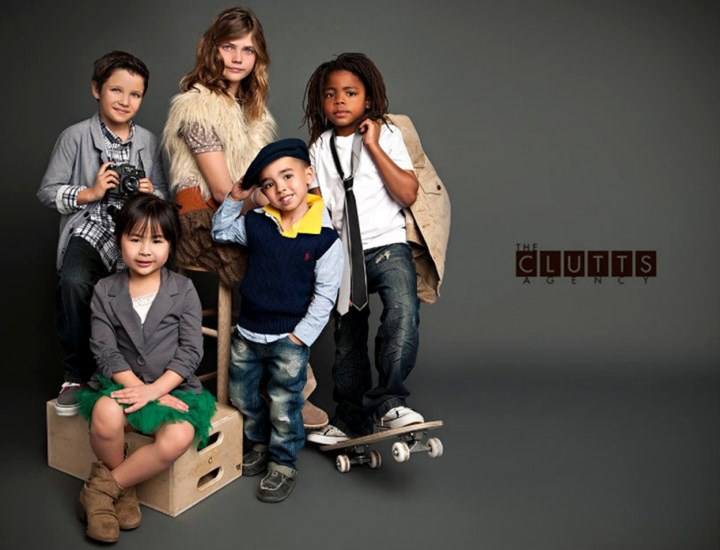 The Clutt's Agency 2012 Kid's Look Book