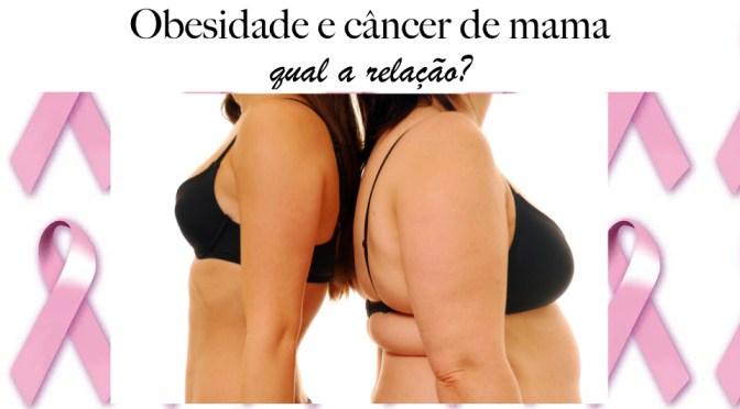 Qual a relação entre obesidade e câncer de mama?