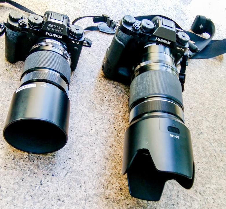 FUJIFILMで望遠レンズをレンタル