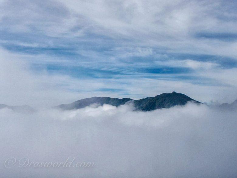 常念岳。DA18-135mmで撮影