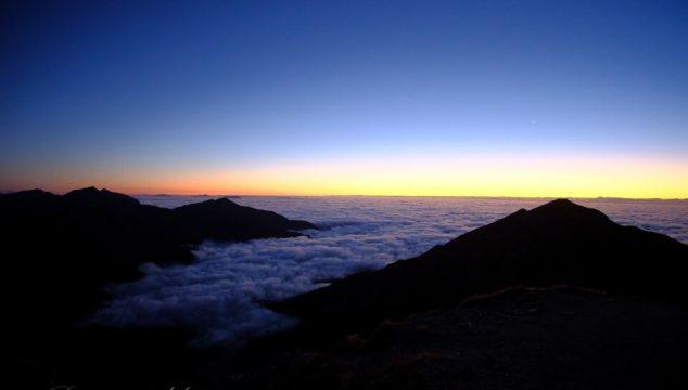 週末でも北アルプスの稜線を独占できてしまうルート(針ノ木岳〜種池山荘)