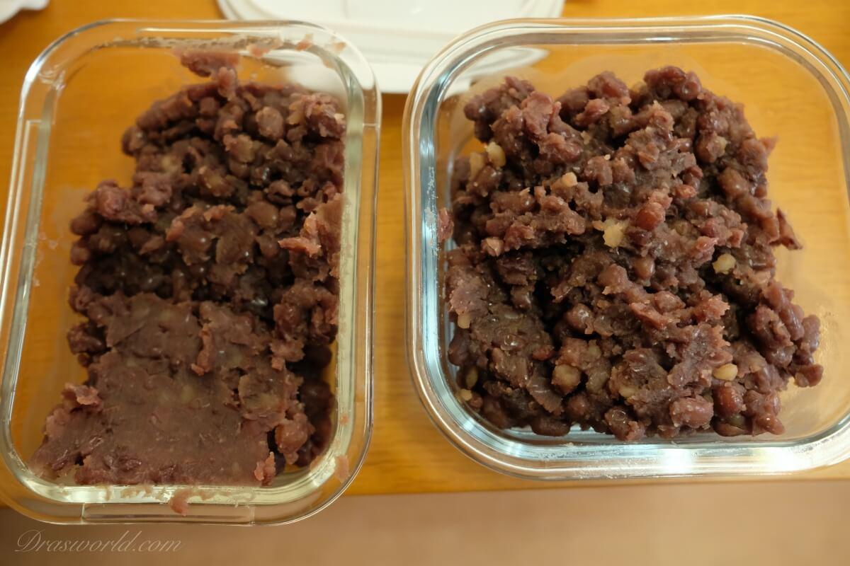 餡(あん)は簡単に作れるタンパク質が豊富な行動食だ!(登山にもいいぞ)