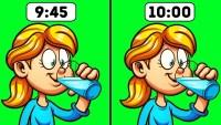 9 حالات عليك الامتناع فيها عن شرب الماء